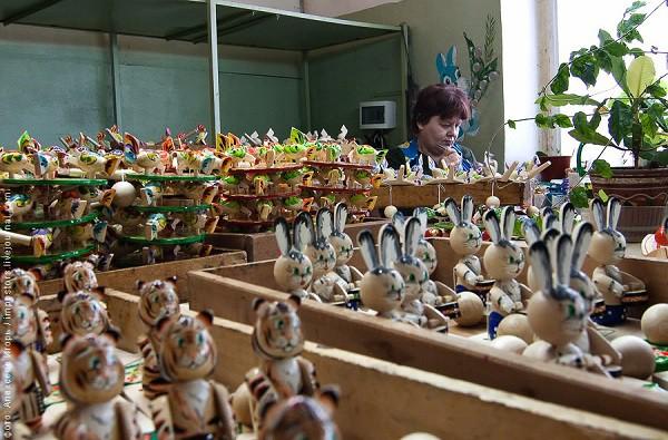 Богородская фабрика игрушек. (25 фото)