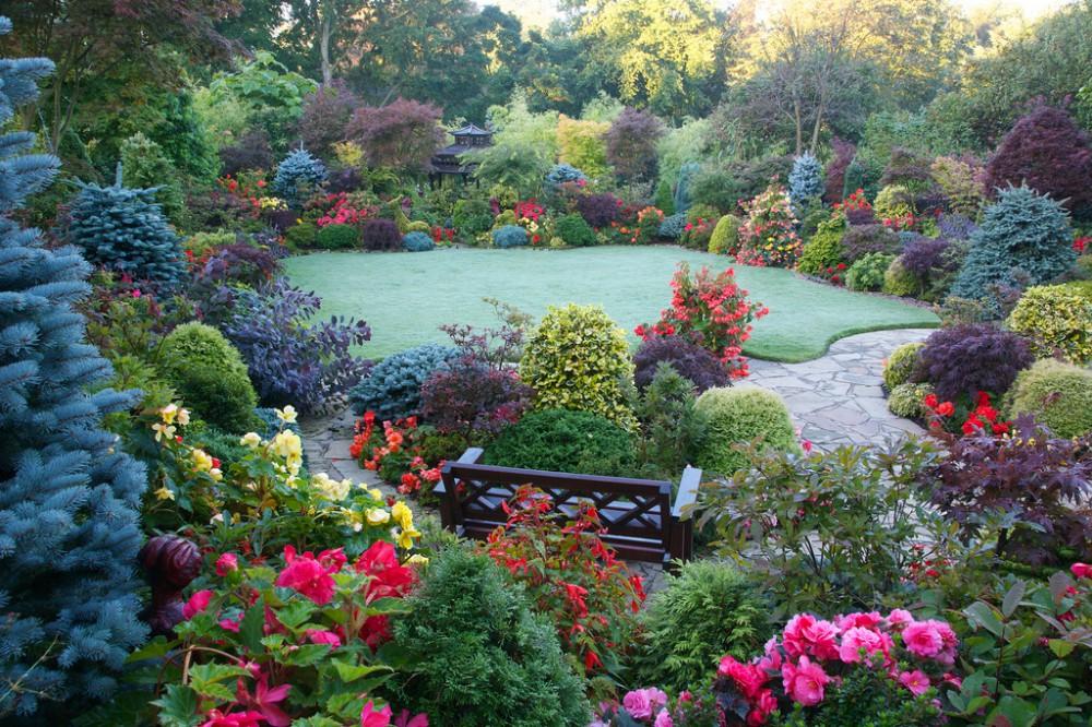 """Результат пошуку зображень за запитом """"Ландшафтный дизайн: парк Four Seasons Garden прекрасен в любое время года! (55 фото)"""""""