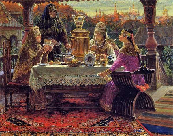 Русское чаепитие.