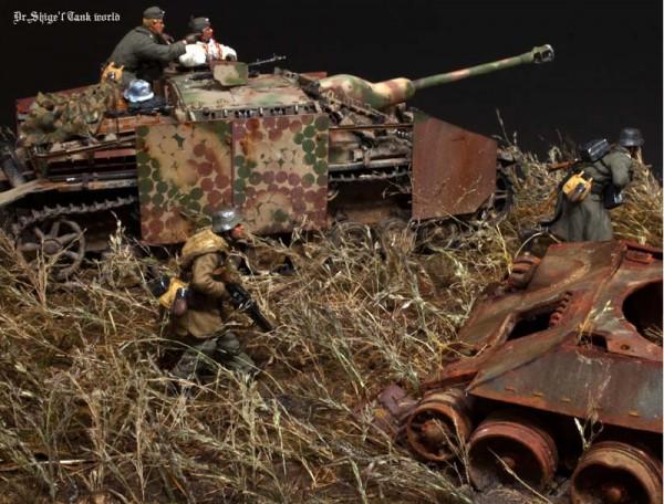 """Работа Shigeyuki Mizuno. """"САУ Sturmgeschütz IV Sd.Kfz.167"""". (12 фото)"""