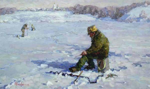 Особенности зимней ловли со льда.