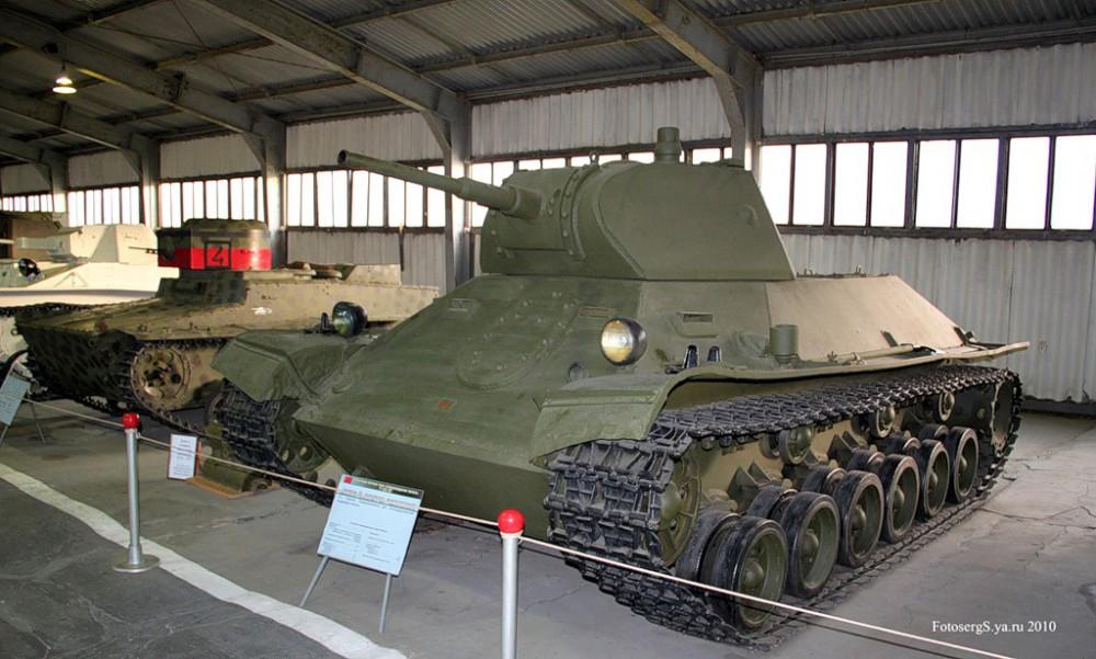 Опытный легкий танк т сп