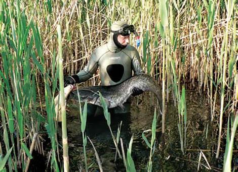 Скафандр для подводной охоты.