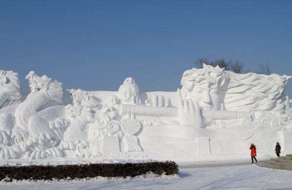 Международный фестиваль льда и снега в Харбине 2013 г. (76 фото)