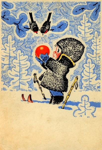 Работы художника-мультипликатора Владимира Ивановича Зарубина. Часть 4. (25 фото)