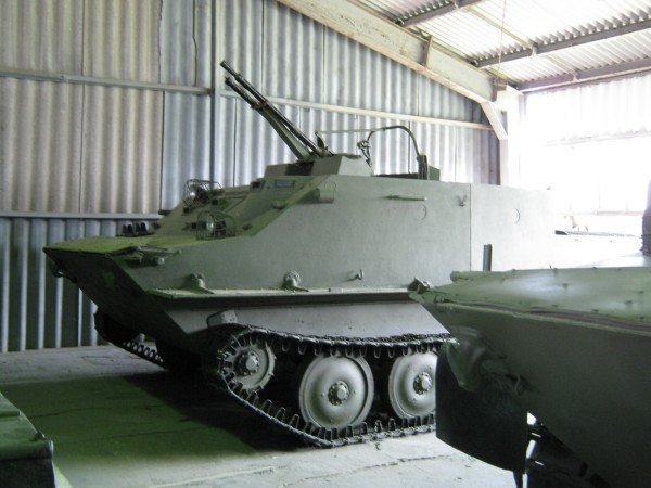 Военно - исторический музей бронетанкового вооружения и техники в Кубинке. Часть 4. (продолжение). (56 фото)
