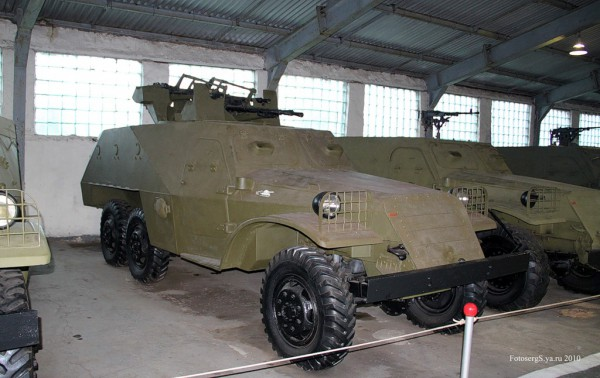Военно - исторический музей бронетанкового вооружения и техники в Кубинке. Часть 5. (46 фото)