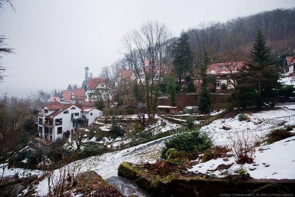 Германия. Туманный Гейдельберг и его замок. (85 фото)