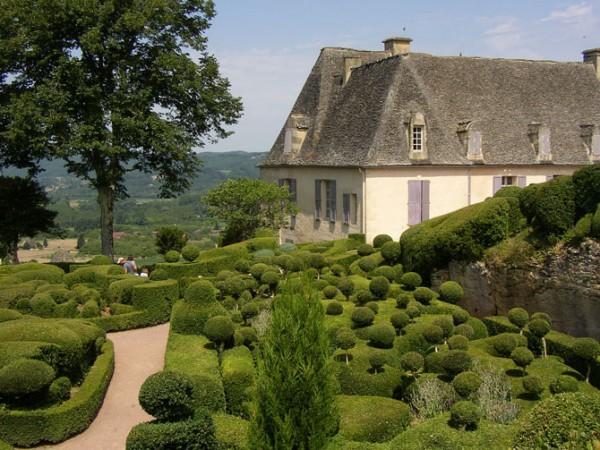 Франция. Сады Маркессака (Jardins de Marqueyssac). (60 фото)