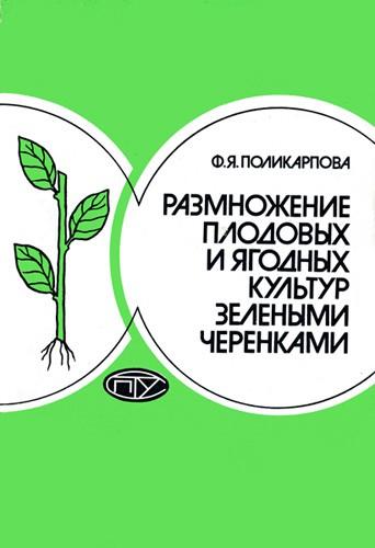 Размножение плодовых и ягодных культур зелеными черенками.