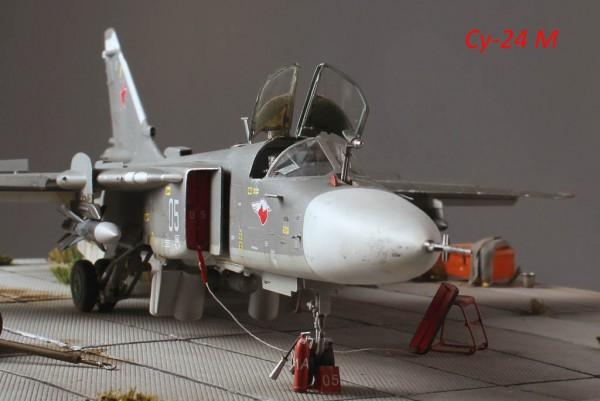 """Работа Олега Юхрименко. """"СУ-24М"""". (12 фото)"""