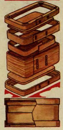 Коробейки для хлеба.