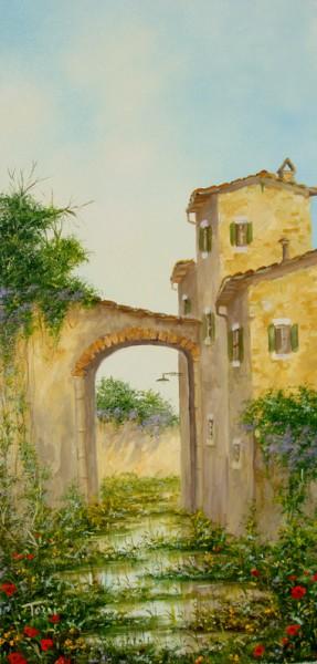 Тосканские пейзажи от Лусиано Торси (Luciano Torsi). Часть 2. (33 фото)