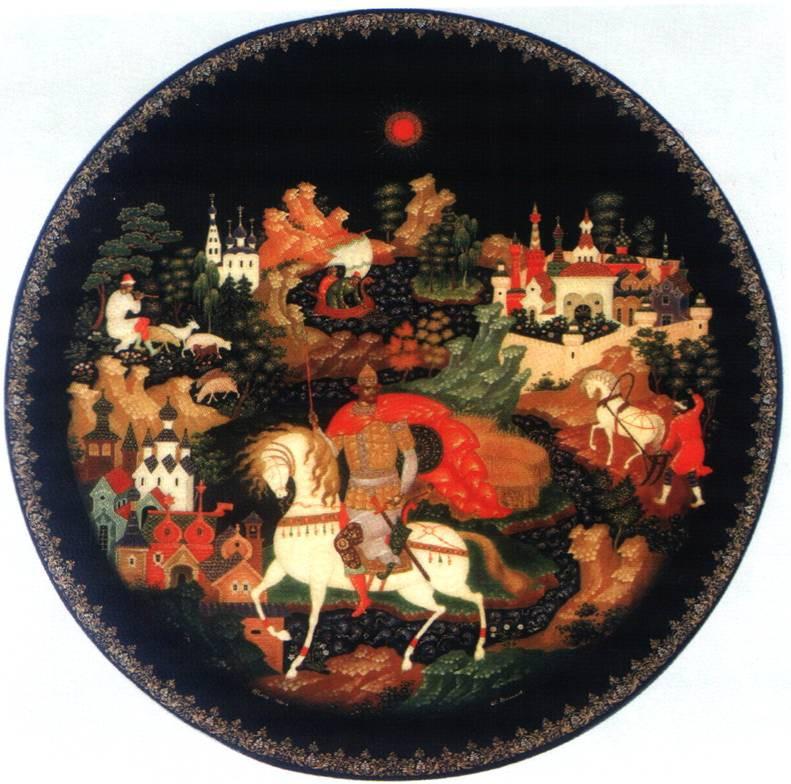палехская миниатюра картинки