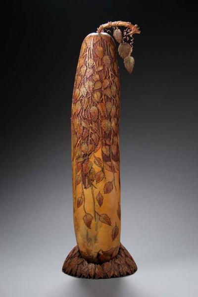 Удивительные резные тыквы от Мэрилин Сандерлэнд (Marilyn Sunderland). Часть 2. (42 фото)