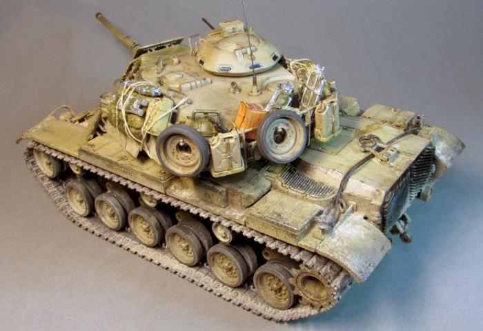 """Работа Олега Юхрименко. """"Танк M60A1"""". (12 фото)"""
