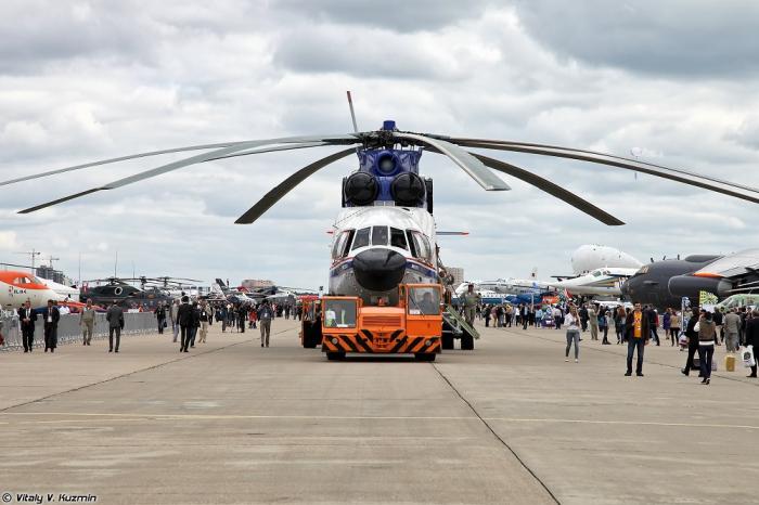 МАКС-2013. Часть 3. Вертолеты. (56 фото)