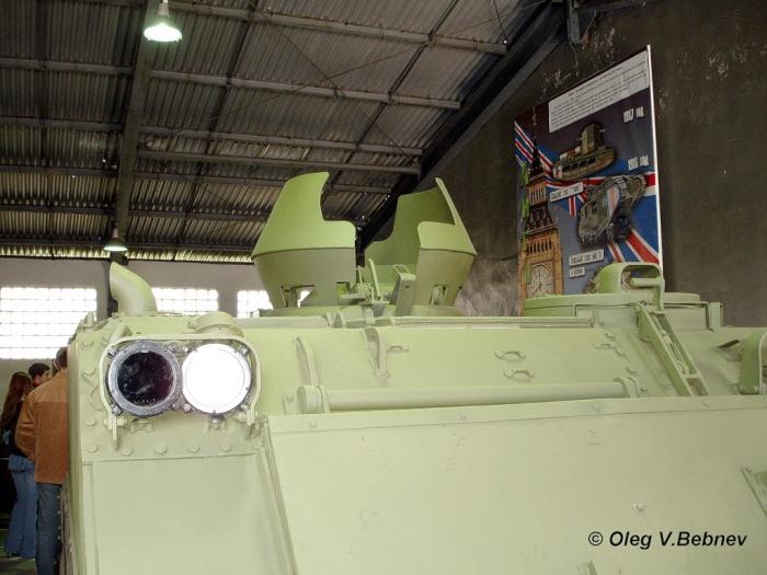 Военно - исторический музей бронетанкового вооружения и техники в Кубинке. Часть 6. (продолжение). (48 фото)