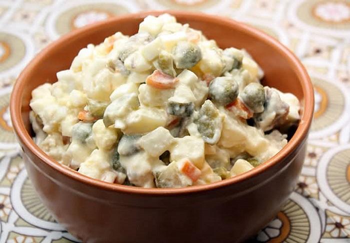 """Трактирный салат """"Каземир"""" – кулинарный рецепт"""