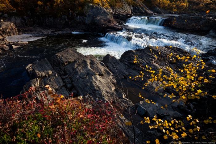 Осень на Кольском, полуостров Рыбачий. Дорога домой. (17 фото)