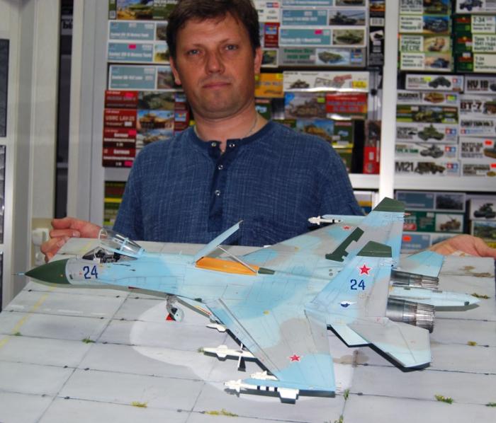 "Работа Олега Юхрименко. ""Су-27"". (14 фото)"
