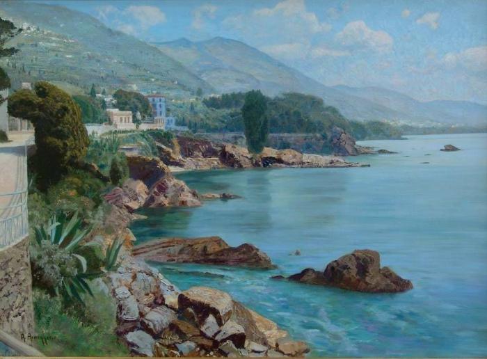 Австрийский художник Алоис Арнеггер (Alois Arnegger 1879 г. – 1963 г.). Часть 1. (45 фото)