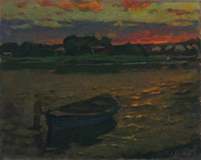 Работы художника В.М. Беликова (1922 г. - 1994 г.). Часть 1. (30 фото)