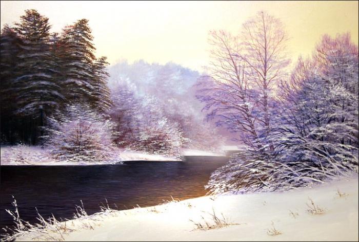 Работы художника Белова Сергея Геннадьевича. Пейзажи. Часть 1. (30 фото)
