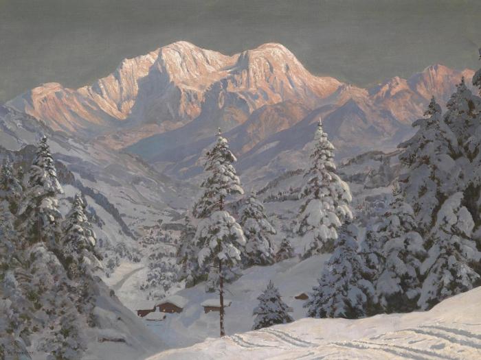 Австрийский художник Алоис Арнеггер (Alois Arnegger 1879 г. – 1963 г.). Часть 2. (43 фото)