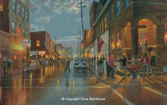 Работы художника Dave Barnhouse. Часть 1. (35 фото)