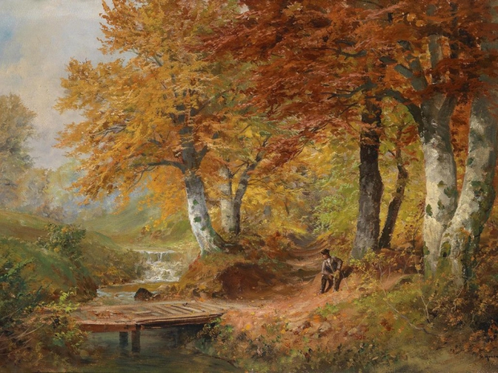 Австрийский художник Алоис Арнеггер (Alois Arnegger 1879 г. – 1963 г.). Часть 3. (43 фото)