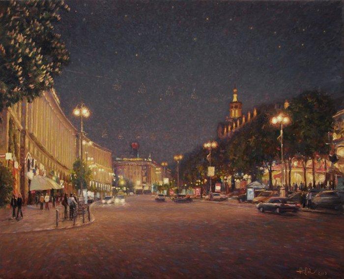 Работы художника Анатолия Петкевича. (23 фото)