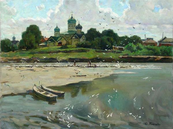 Работы художника Юрия Пантюхина. Пейзажи России. (37 фото)