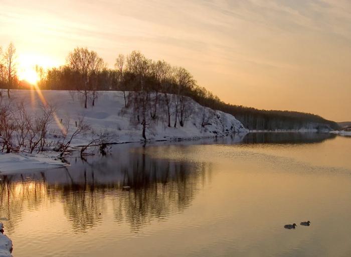 Вести с водоёмов от 05.03.2014 г.