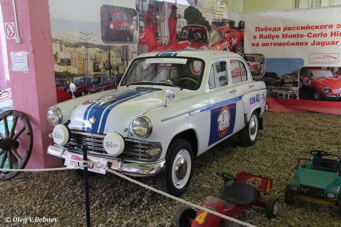 Музей Ретро - Автомобилей. Часть 9. (76 фото)