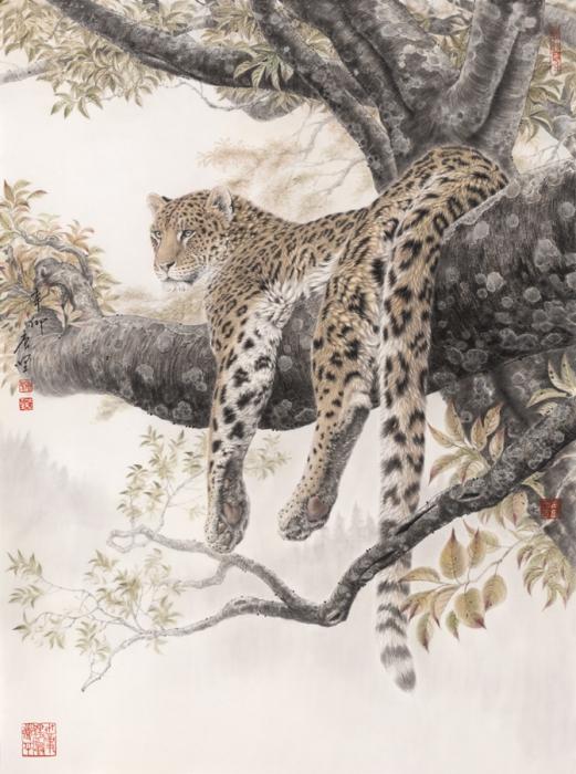Работы художника Тан Цзяна (Tang Jiang). Часть 3. (47 фото)