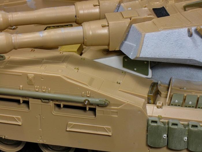 """Работа Сергея Лисового. """"E.F.G.F.M61A5 MAIN BATTLE TANK """"SEMOVENTE"""""""". (22 фото)"""