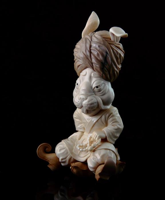 Александр и Елена Коптеловы. Резьба по кости мамонта. Часть 9. (21 фото)