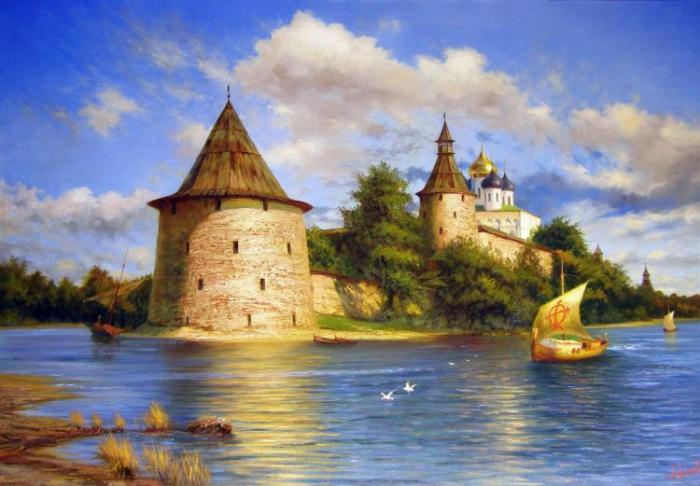 Работы художника Милюкова Александра. Часть 1. (39 фото)
