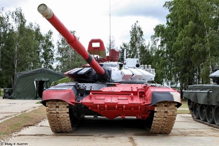 Танковый биатлон 2014. Часть 1. Cоревнования, обзор танков Т-72Б3М/Б4 и Т-90А. (50 фото)