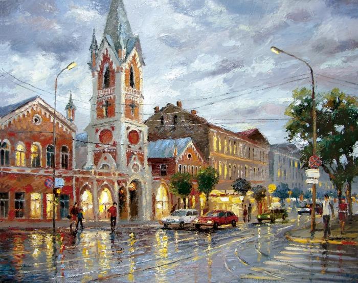 Работы художника Дмитрия Спироса (Dmitry Spiros). Часть 1. (42 фото)
