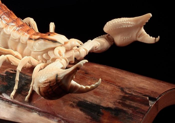 Александр и Елена Коптеловы. Резьба по кости мамонта. Часть 10. (19 фото)