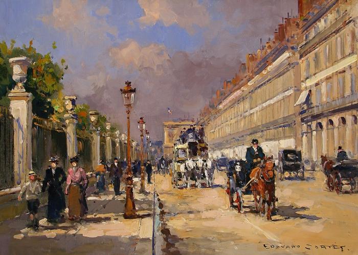 Работы художника Эдуарда Леона Кортеса ( Édouard Leon Cortès 1882 - 1969 г.г.). Часть 1. (50 фото)