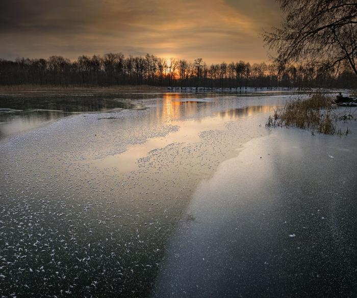 Ранние морозы. Часть 1. Условия для успешной рыбалки.