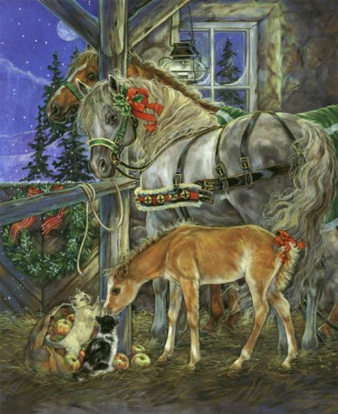 Работы художника - иллюстратора Донна Рейс (Donna Race). Часть 1. (42 фото)
