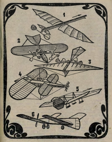 С чего начинался авиамоделизм.