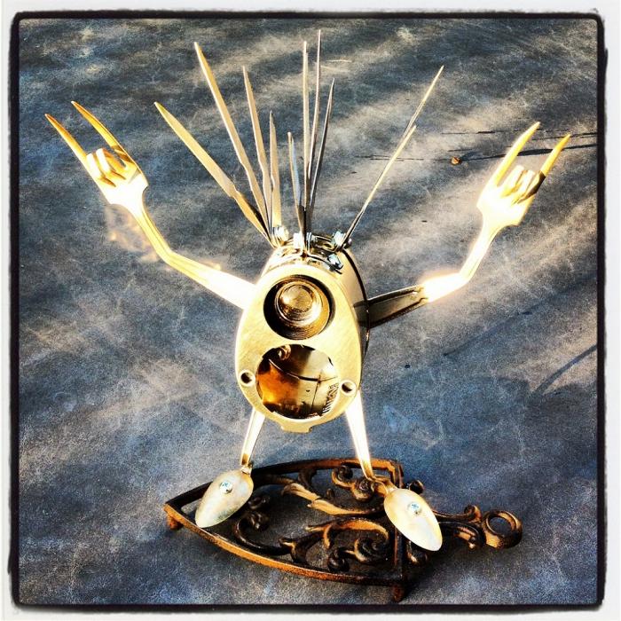 Брайан Маршалл (Brian Marshall) и его роботы. Часть 1. (50 фото)