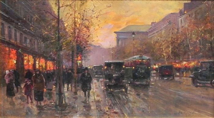 Работы художника Эдуарда Леона Кортеса ( Édouard Leon Cortès 1882 - 1969 г.г.). Часть 3. (50 фото)
