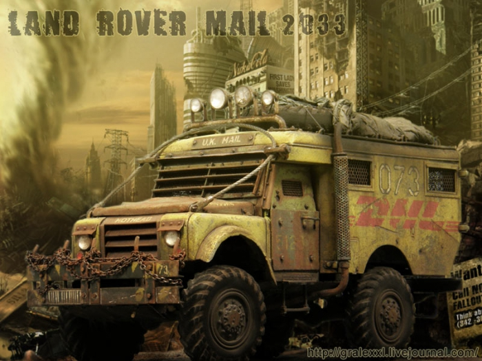 "������ ������� ��������. ""LAND ROVER ""HOTHEAD"". MAIL 2033"". (24 ����)"