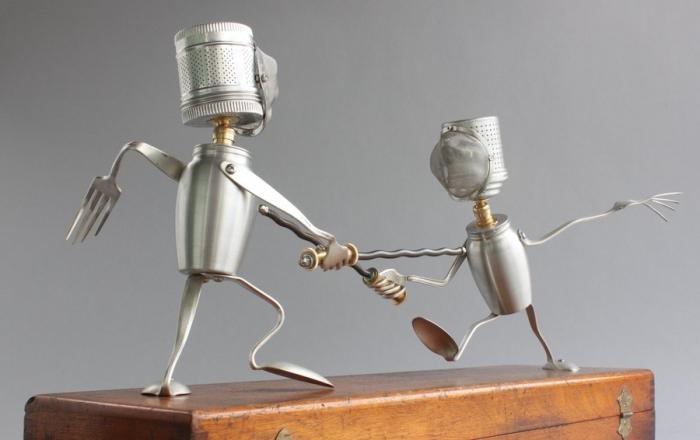 Как сделать из робота подручных средств в 454